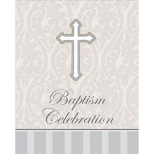 Devotion Baptism Celebration 8 Ct Party Church Invitations