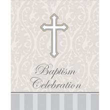 Devotion Baptism Celebration 8 Ct Party Church Invitations
