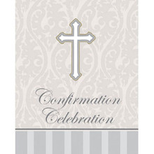 Devotion Confirmation Celebration 8 Ct Party Church Invitations