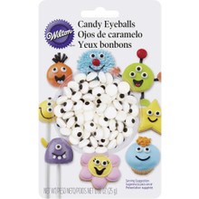 Candy Eyeballs Royal Icing Decorations Wilton