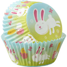 Wilton 75 Ct Easter Bunny Baking Cups Cupcake Liners