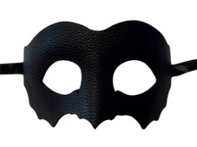 Black Leather Bat Venetian Masquerade Prom Mask Goth