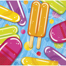 Popsicle Party 16 Beverage Napkins Summer Pool Beach Party