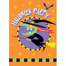 Trick or Treat Witch Halloween Party Invitations 8 Ct