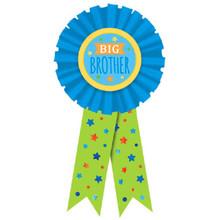 Big Brother Award Ribbon Badge New Baby, Shower