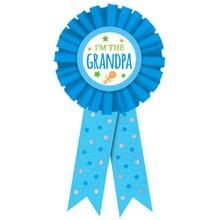 New Grandpa Award Ribbon Badge New Baby, Shower
