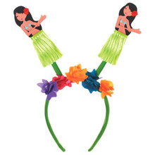 Hawaiian Hula Girl Luau Head Bopper HeadBopper Headband