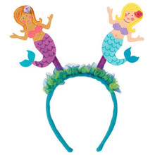 Mermaid Luau Head Bopper HeadBopper Headband