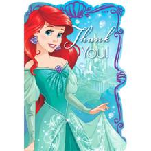 Ariel Little Mermaid Dream Big 8 Postcard Thank You Birthday Party