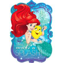 Ariel Little Mermaid Dream Big 8 Postcard Invitations Birthday Party