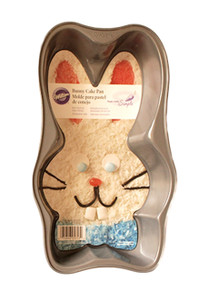 Bow Tie Easter Bunny Pan Non-Stick Wilton