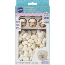 Wilton Lamb Easter Icing Decoration Kit Marshmallows Sprinkles