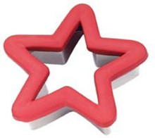 Red Star Comfort Grip Cookie Cutter Wilton