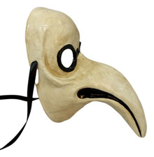 Dr Bird Plague Doctor Beak Masquerade Party Halloween Mask