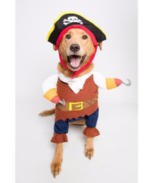 Pet Pirate 3 pc Costume Large Sized Dog 15 inches