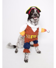 Pet Pirate 3 pc Costume XLarge Sized Dog 19 inches