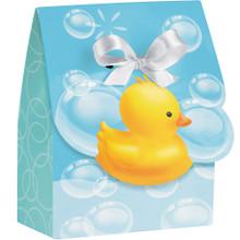 Bubble Bath Baby Shower Favor Bags 12 ct Rubber Ducky
