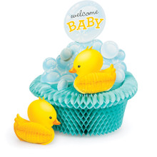 Bubble Bath Baby Shower Centerpiece Rubber Ducky