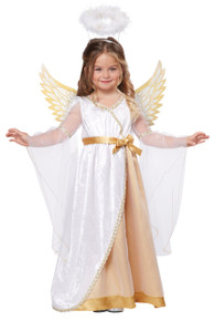 Sweet Little Angel Halloween Dress Up Play Costume Toddler 3-4