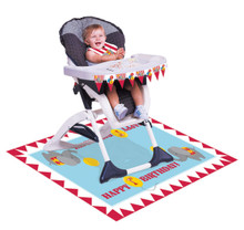 Circus Time Carnival 1st Birthday Party High Chair Decorating kit