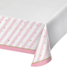 Twinkle Toes Tablecover Plastic 54 x 102 Ballet Birthday Party Dance Recital Ballerina