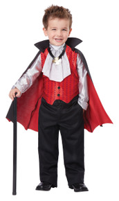 Dapper Vampire Halloween Costume Toddler 4-6