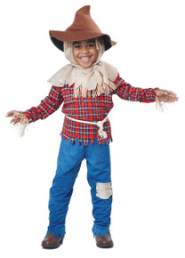 Harvest Time Scarecrow Halloween Costume Toddler 4-6