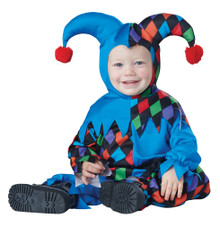 Lil' Jester Mardi Gras Halloween Costume  Infant 12-18 Mths