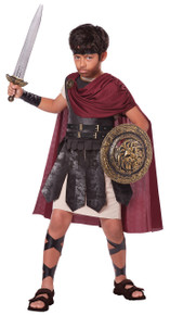 Spartan Warrior Halloween Costume Child XL 12 - 14