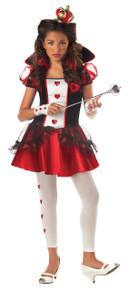 Queen of Hearts Halloween Costume Tween  L 10 - 12