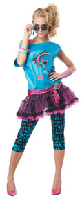 Valley Girl 80's Retro Halloween Costume Adult Womans XL