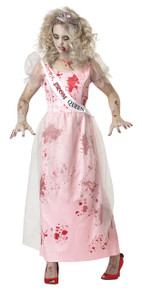 Prom Zom Halloween Costume Adult Womans XL Zombie