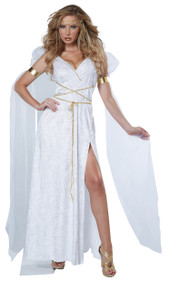 Athenian Goddess Halloween Costume Adult Womans Medium 8 -10