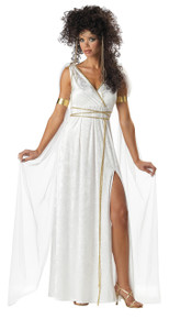 Athenian Goddess Halloween Costume Adult Womans Small 6-8