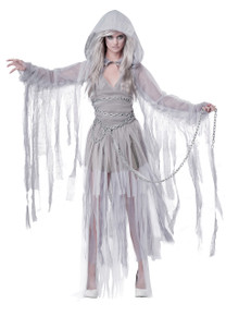 Haunting Beauty Halloween Costume Adult Womans Large 10 - 12 Ghost