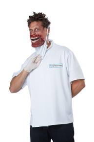 Dr Novocaine Halloween Costume Adult Men L / XL 42 - 46 Scary Doctor