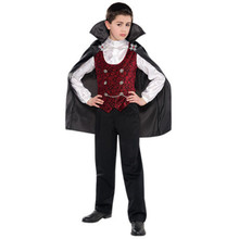 Dark Vampire Halloween Costume Child  4 - 6 Costumes USA