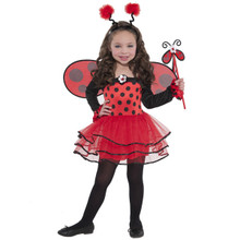 Ballerina Bug Ladybug Costume Girls Child Toddler 3 - 4 3T - 4T
