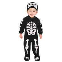 Bitty Bones Skeleton Costume Infant 6-12 Months