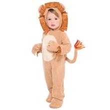 Loveable Lion Costume Infant 0-6 Months