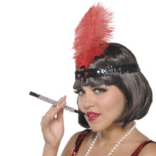 Glitzy Cigarette Holder Roaring 20's Flapper Prop