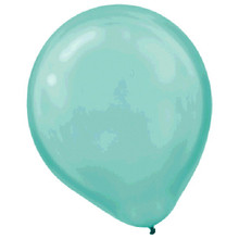 "Robin's Egg Blue Latex Balloons 12"" 72 Ct"