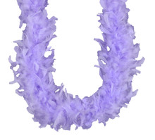 Lavender Chandelle Feather Boa 45 gm 72 in 6 Ft