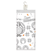 Kids Thanksgiving Paper Activity Tablecover 54 x 88
