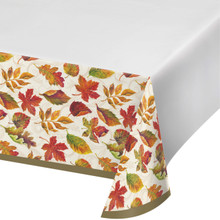 Colors of the Wind Fall Tablecover 54 x 102 Thanksgiving Leaves