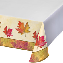 Burnished Leaves Fall Tablecover 54 x 102 Thanksgiving