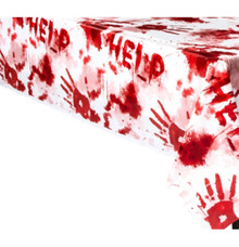 Asylum Bloody Good Time Plastic Tablecover Halloween