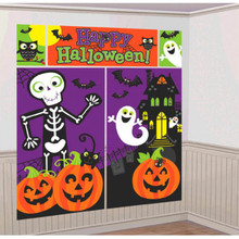 Halloween Characters Family Friendly Scene Setters Room Decorating Kit