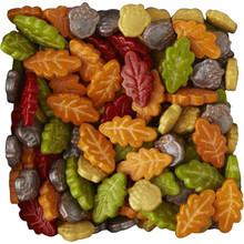 Acorn Leaf Sprinkles Mix  Decorations 3 oz Wilton