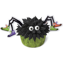 Spider Decorating Kit Baking Cupcake Liners Picks Eyes  Wilton makes 12 spiders